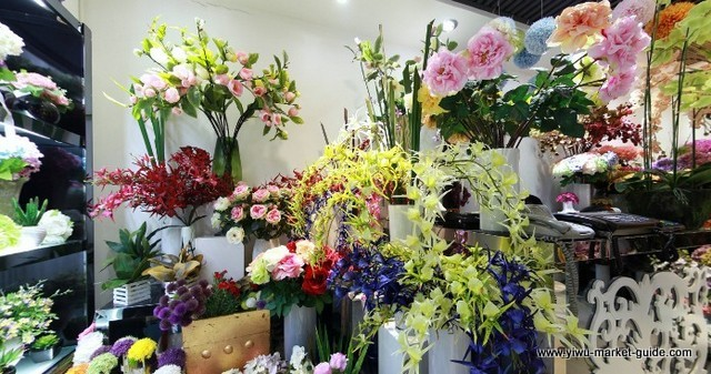 Artificial Flower Showrooms Yiwu China 6