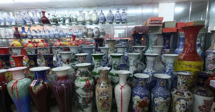 Cloisonne-vases