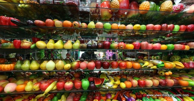 Attractive Artificial Fruits Apple Pear Banana Wholesale Yiwu China
