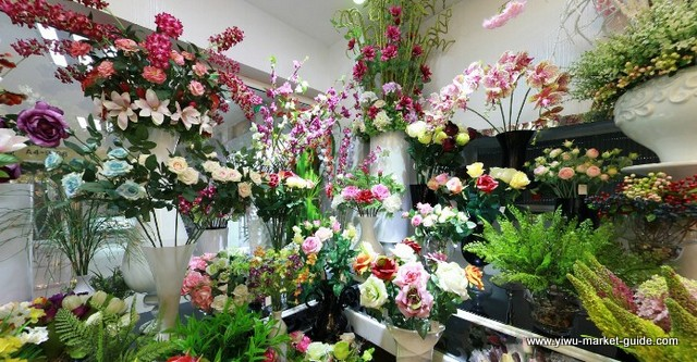Artificial Plants Trees And Turf Wholesale Showrooms Yiwu China