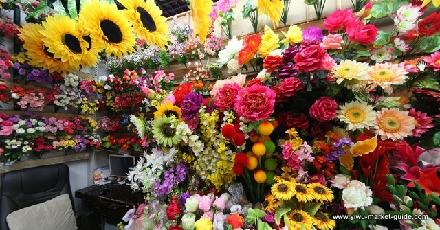 artificial-sunflowers-wholesale-china-yiwu