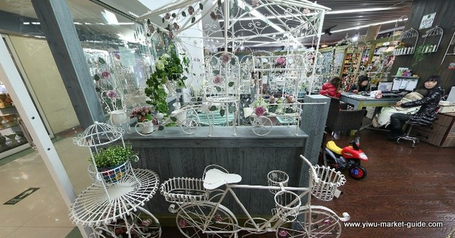 home-decoration-flower-baskets-on-bike-Wholesale-China-Yiwu