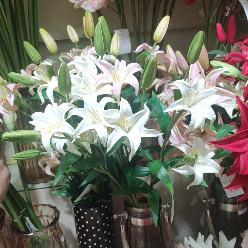 Latex Lily Flower 918406004, Yiwu China