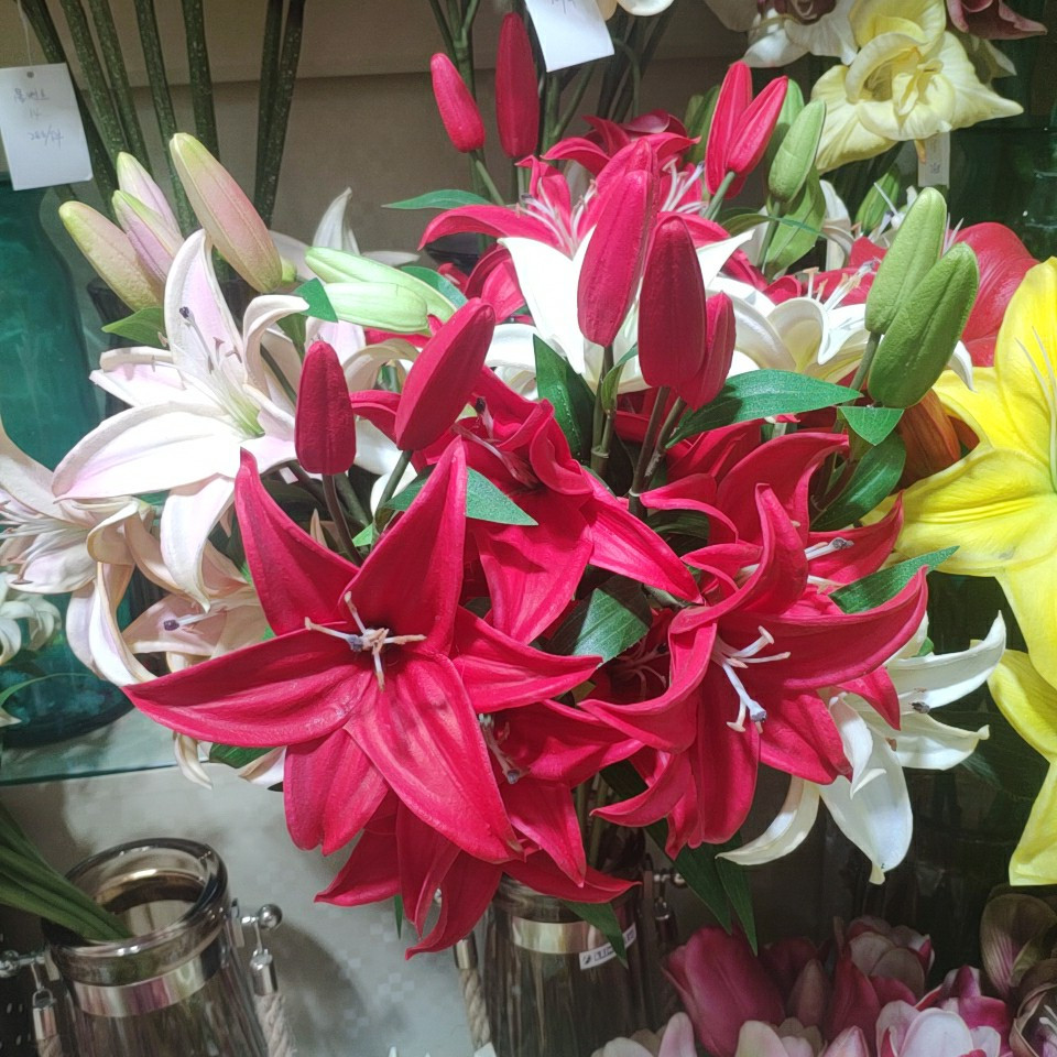 Latex Lily Flower 918406003, Yiwu China