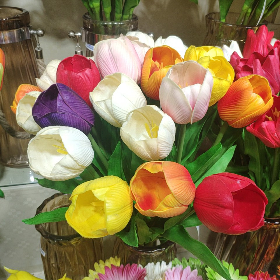 Latex tulips 918405002, Yiwu China
