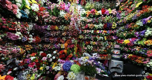 Artificial Flower Showrooms Yiwu China 3