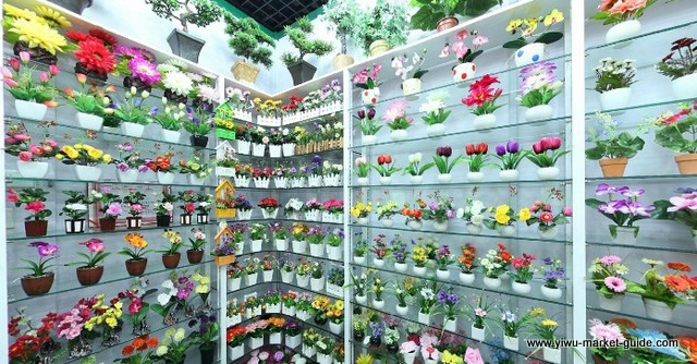 potted-artificial-flowers-wholesale-yiwu-china